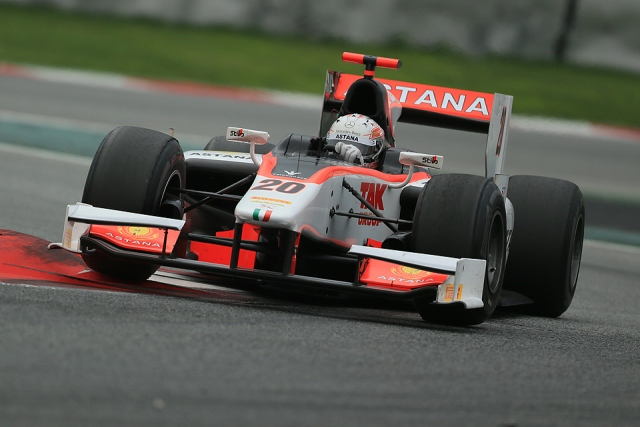 GP2 Post-Season Testing 2012: Barcelona Day 1 Results Morning session Pos Driver Team Time Gap Laps 1. Luca Filippi Scuderia Coloni 1:29.775   17 2. Daniel De Jong Scuderia Coloni...