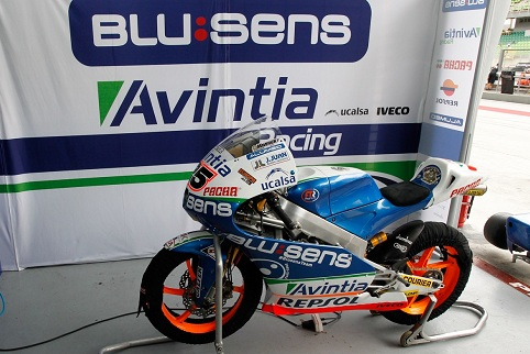 Vinales' bike will remain unused in the garage this weekend - Photo Credit: MotoGP.com