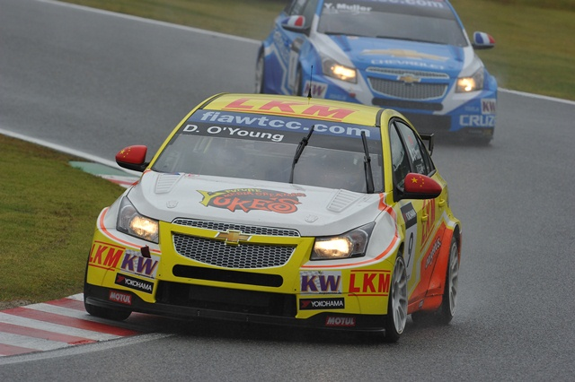 Darryl O'Young - Photo Credit: WTCC Media