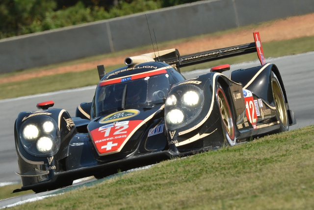 The European guests crashed the part in qualifying for the 15th Petit Le Mans, the final round of the American Le Mans Series, and the final point scoring round of the abbreviated European Le Mans Series.