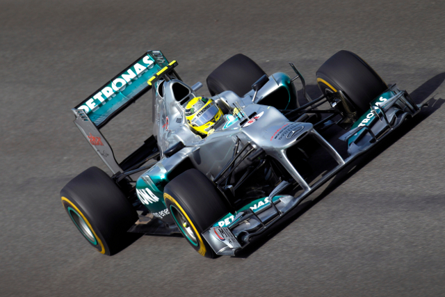 Despite managing to get both cars into the top ten in qualifying, Mercedes suffered their second pointless race in a row today at Korea. Nico Rosberg was once again eliminated in an early incident, whilst Michael Schumacher struggled for pace and finished a disappointed thirteenth.