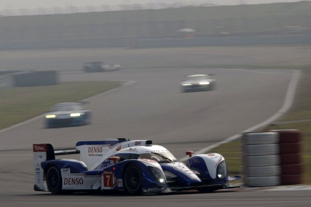 Nicolas Lapierre and Alex Wurz dominated the final round of the FIA World Endurance Championship (WEC), ending the season with a third victory for Toyota Hybrid Racing in the Six Hours of Shanghai.