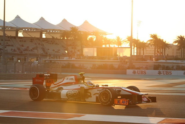 Narain Karthikeyan has revealed that a loss of hydraulic pressure triggered the chain of events that resulted in a scary collision with Nico Rosberg in Abu Dhabi