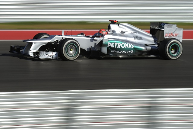 Michael Schumacher - Photo Credit: Mercedes AMG Petronas