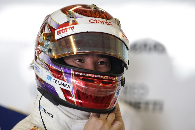 Kamui Kobayashi - Photo Credit: Sauber F1 Team