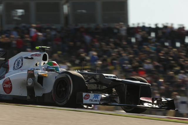 Sergio Perez - Photo Credit: Sauber F1 Team