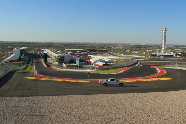 Circuit of the Americas welcomes F1 for the first time this weekend (Photo Credit: Octane Photographic Ltd)