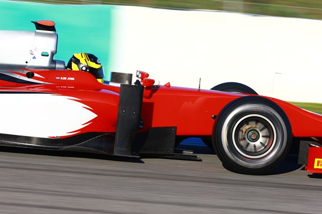 Daniel de Jong - Photo Credit: Malcolm Griffiths/GP2 Series Media Service