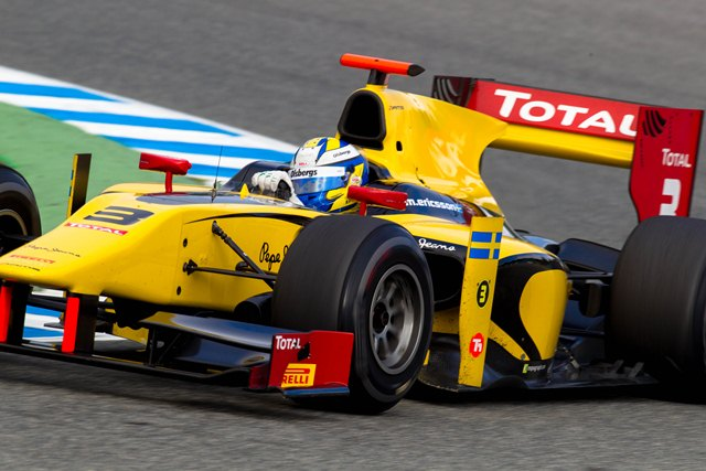 Marcus Ericsson - Photo Credit: Malcolm Griffiths/GP2 Series Media Service