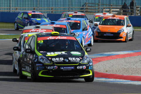 Goff drove superbly to clinch the Clio Cup title (Photo Credit: Jakob Ebrey Photography)
