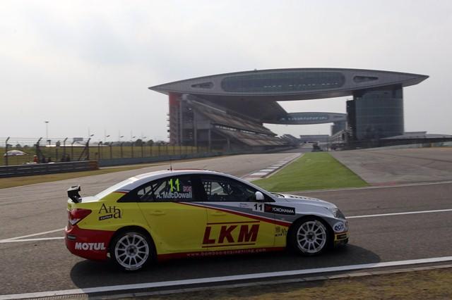 Alex MacDowall - Photo Credit: FIA WTCC