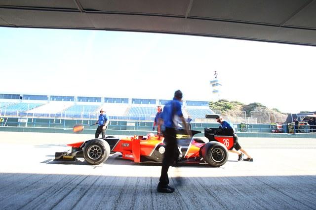 Felipe Nasr - Photo Credit: Malcolm Griffiths/GP2 Series Media Service