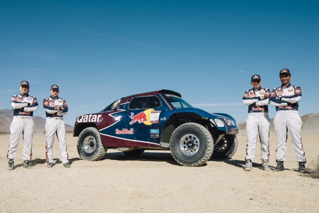 Qatar Red Bull Rally Team - Photo Credit: Tony Harmer/Red Bull Content Pool