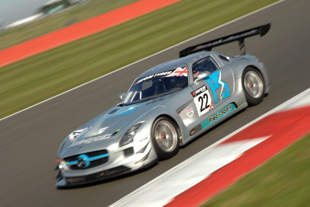 Fortec intend to run Mercedes SLS GT3 in 2013 (Photo Credit: Chris Gurton Photography)