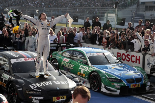 Bruno full of realisation, as he becomes DTM Champion (Image Credit: BMW AG)