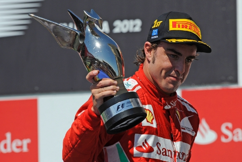 Fernando Alonso, unlikely championship challenger in a poor car was a popular choice for driver of the year (Photo Credit: ferrari.com)