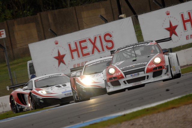 Old and new combined: Motorbase Performance's Porsche won the British GT crown (Photo Credit: Chris Gurton Photography)