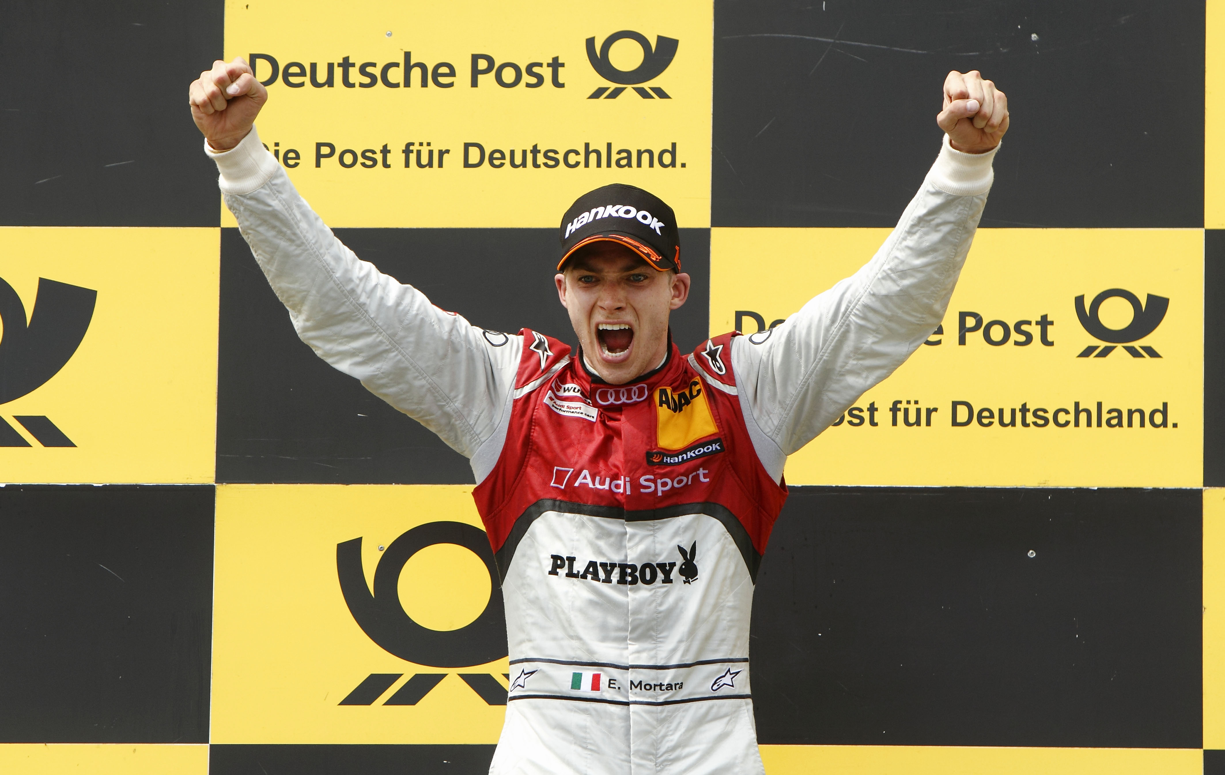 Edo Mortara showed his skills with two impressive wins in the A5 DTM (Image credit: DTM Media)