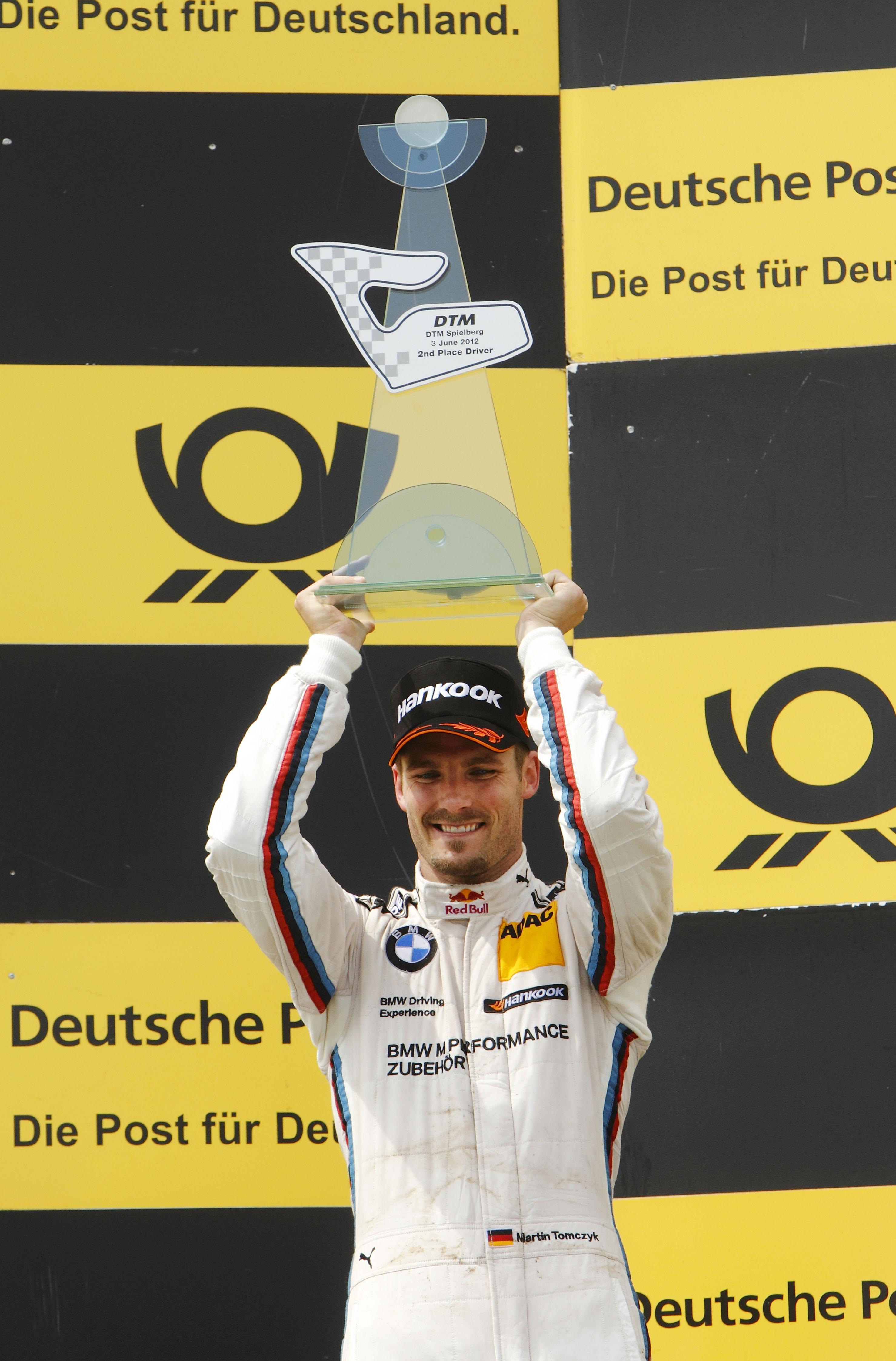 #1 Martin Tomczyk, BMW Team RMG, BMW M Performance Zubehör M3 DTM (2012)
