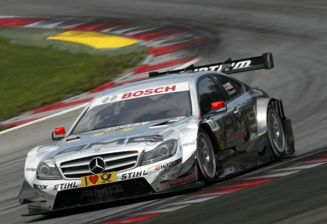 "Jamie Green - ""King of The Norisring"" - 4 wins with Mercedes, before going to Audi in 2013 (Image Credit: DTM Media)"