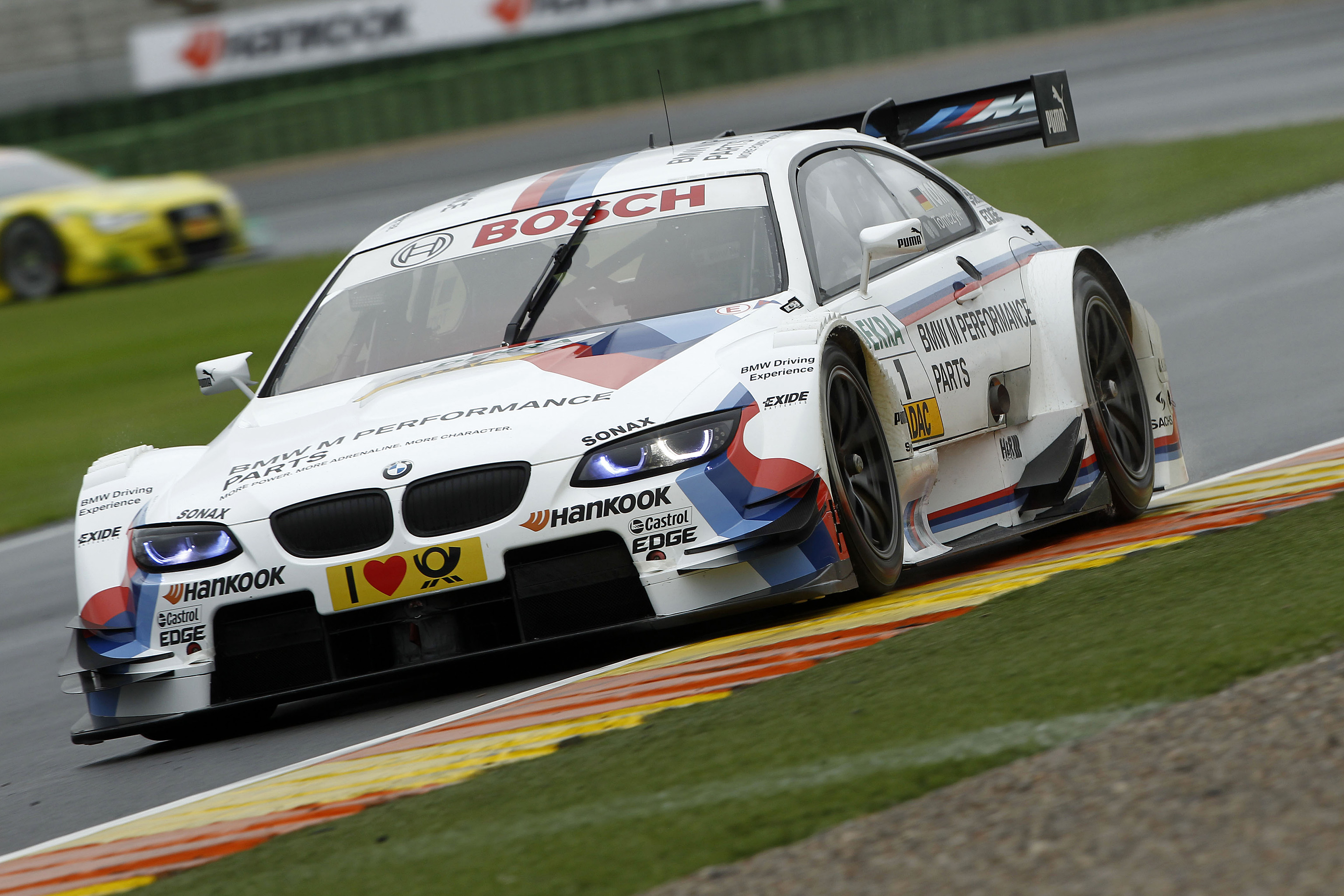 #1, Martin Tomczyk (BMW Team RMG, BMW M Performance Zubehoer BMW M3 DTM (2012))