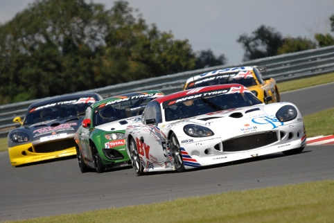Warren Hughes and Jody Fannin romped to GT4 success (Photo Credit: Chris Gurton Photography)