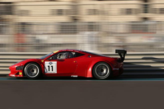 The grid was set using the average of the fastest time by all drivers in the car (Photo Credit: Gulf 12 Hours)