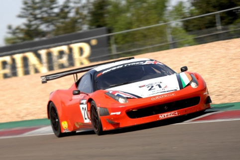 Propelled forth by victory at the Nurburgring MTECH lead into the final round (Photo Credit: Chris Gurton Photography)