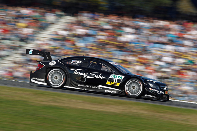 Paffett became the first Briton to win the DTM title in 2005