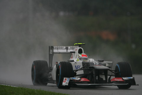 Perez set the rumour mill in motion with his Sepang podium (Photo Credit: Sauber Motorsport)