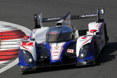 The TS030 Hybrid took three wins in 2012, including one on home soil at Fuji (Photo Credit: Toyota Hybrid Racing)