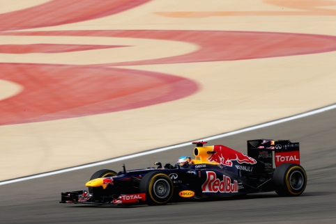 On F1's controversial return to Bahrain Vettel scored his first win of the year (Photo Credit: Clive Mason/Getty Images)