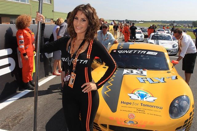 Ginetta Launch 2013 Grid Girl Competition The Checkered Flag