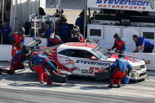An unusual mechanical problem began the issues for the team (Photo Credit: Stevenson Motorsports)