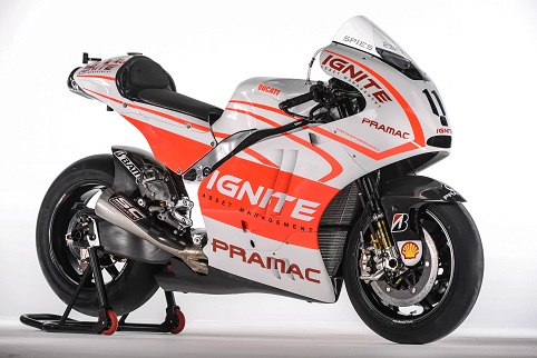 Ben Spies' new-look Pramac Ducati (Photo Credit: Ducati)