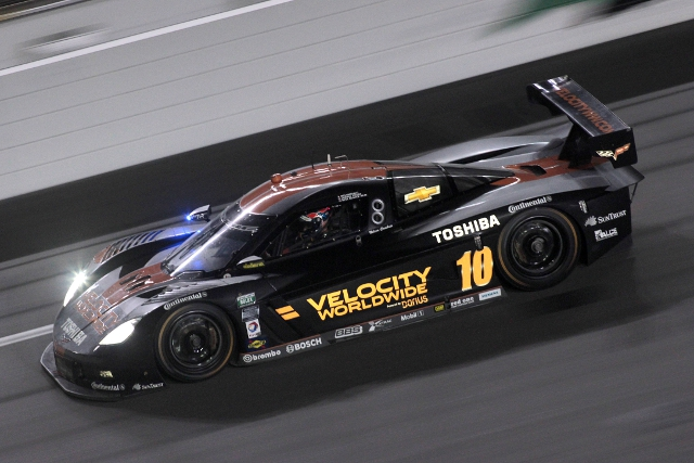 Wayne Taylor Racing announced Velocity Worldwide as their new sponsor before the test began (Photo Credit: Grand-Am)