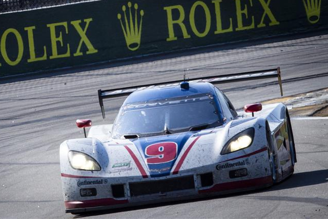 Action Express' #9 completed the lead lap finishers, but missed out on the podium (Photo Credit: Rolex/Stephan Cooper)