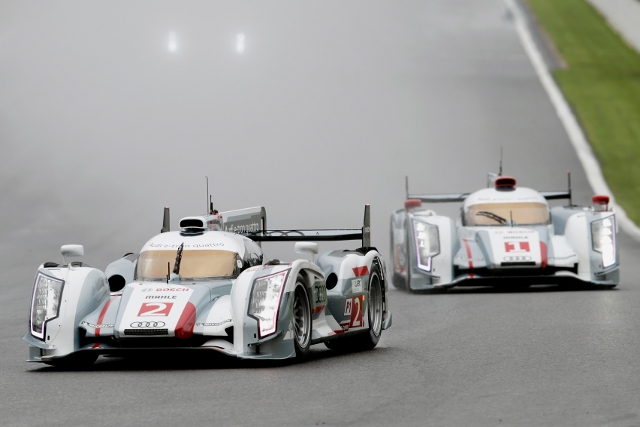Audi will enter a pair of e-tron quattro, one an updated version of the 2012 car (Photo Credit: Audi Motorsport)