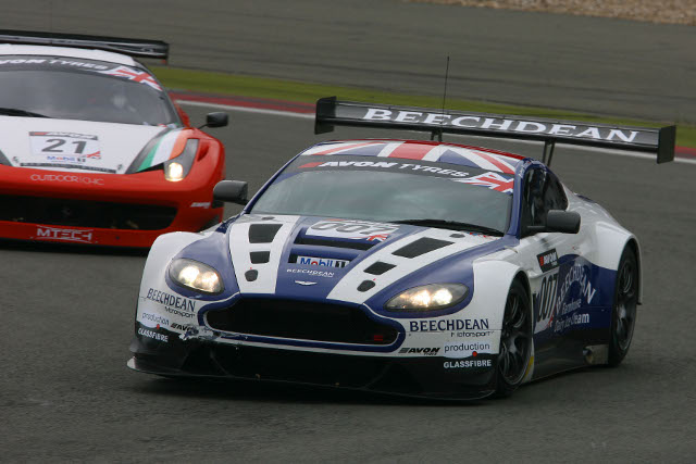 Adam and Howard gave the GT3 Vantage its first race win in Germany (Photo Credit: Jakob Ebrey Photography)