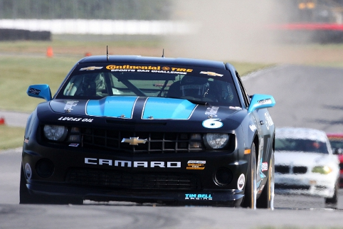 Continental Tire Sports Car Challenge, Chevrolet Camaro (Photo Credit: Grand-Am)