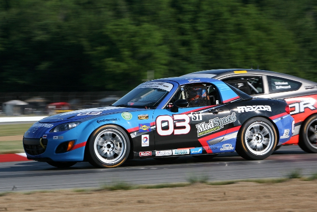 McAleer will share one of CJWR's ST class Mazda MX-5 (Photo Credit: Grand-Am)