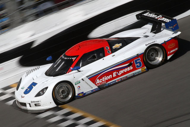 Action Express Racing completed a trouble free test at Daytona (Photo Credit: Grand-Am)