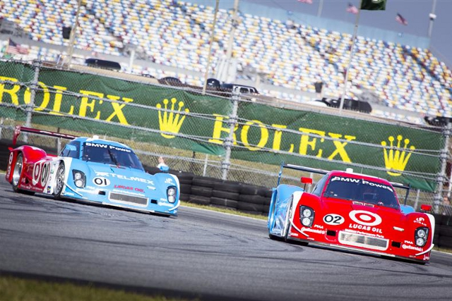 #01 and Pruett lead Dixon and the #02 to the front row for the Rolex 24 at Daytona (Photo Credit