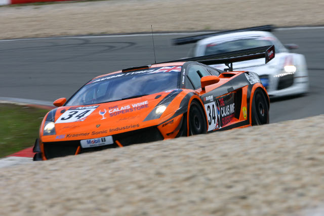 The team entered a single car for three rounds of the 2012 season (Photo Credit: Jakob Ebrey)