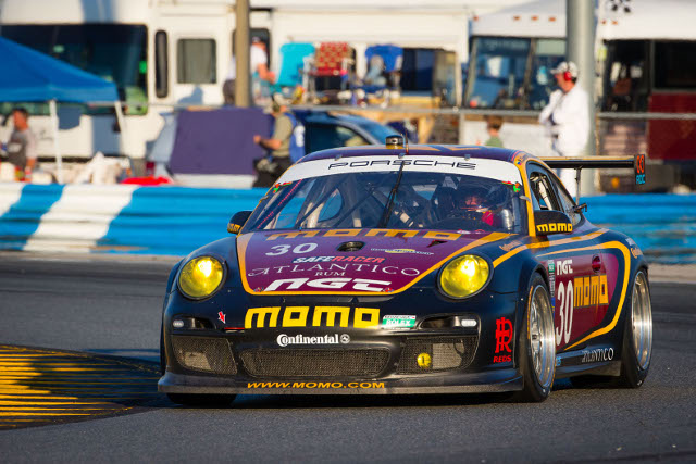 The MOMO/NGT team had to start from the rear of the GT field (Photo Credit: NGT Motorsport)