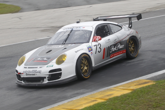 Partrick Long was the fastest man in GT at the three day test (Photo Credit: Porsche North America)