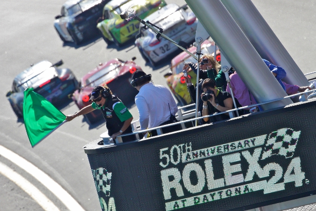 The Rolex 24 at Daytona has, again, attracted a long list of star names (Photo Credit: Grand-Am)