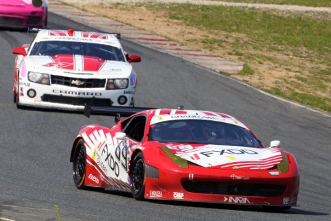 Three wins and five other podiums kept Segal and Assentato ahead in GT (Photo Credit: Grand-Am)