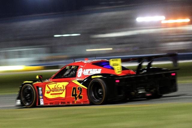 Pagenaud led the way in the only night running at Daytona before the Rolex 24 itself (Photo Credit: Grand-Am)