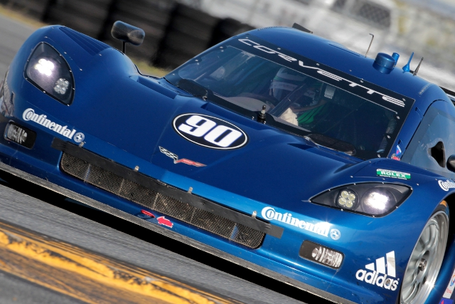 Richard Westbrook was the man tasked with qualifying the #90 (Photo Credit: Grand-Am)
